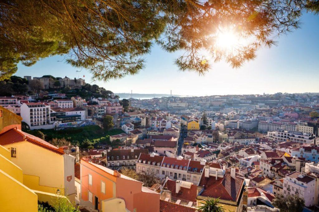 View from Miradouro da Graça