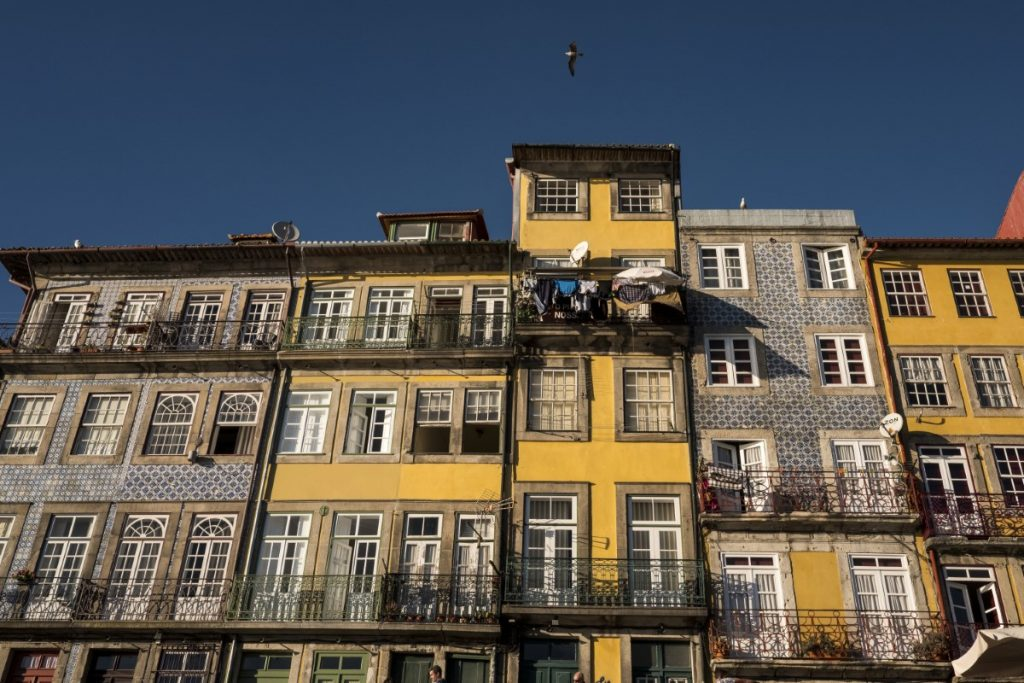 Ribeira Porto, picturesque and quaint streets, where the locals gather and sit outside to catch up on the conversation during the sunny afternoons!