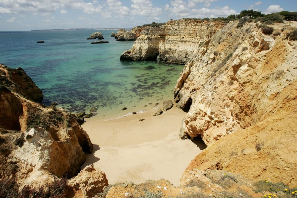 Secluded Beach West Algarve Walk