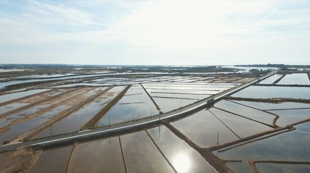 Stunning view to Ria Formosa Saltpans