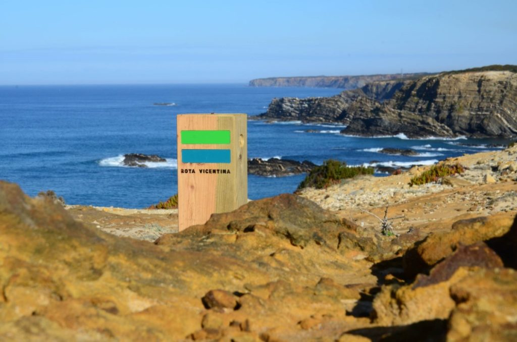 Vicentina Route, one of the finest stretches of preserved European coastlines, the area is home to the famous Rota Vicentina – a 340km long-distance path .