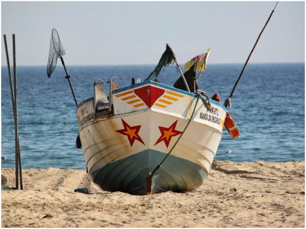 Montegordo fishing boats