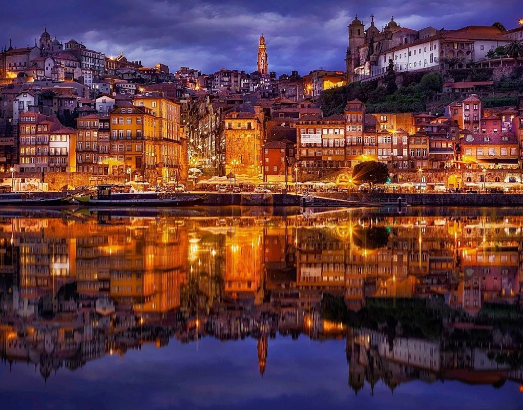 Porto, situated on the Douro River, is the capital of the north and the second largest city in Portugal.