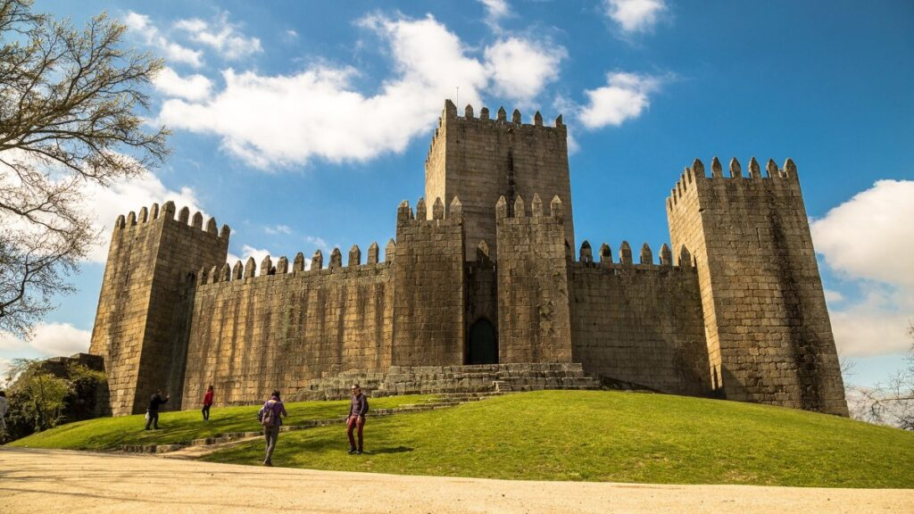 Castle of Guimaraes is a charming and historic city and is regarded as the birth place of Portugal