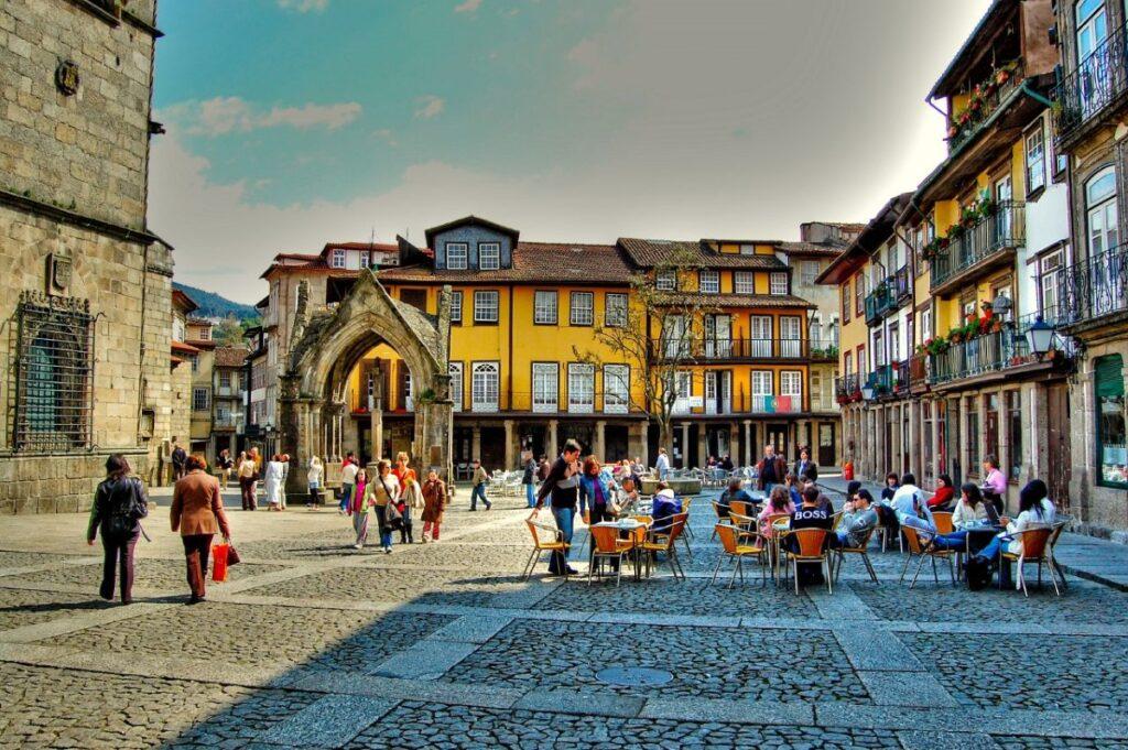Guimarães city center