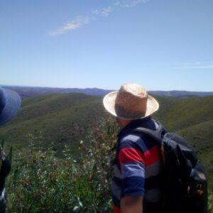 Caldeirão Mountains walking day