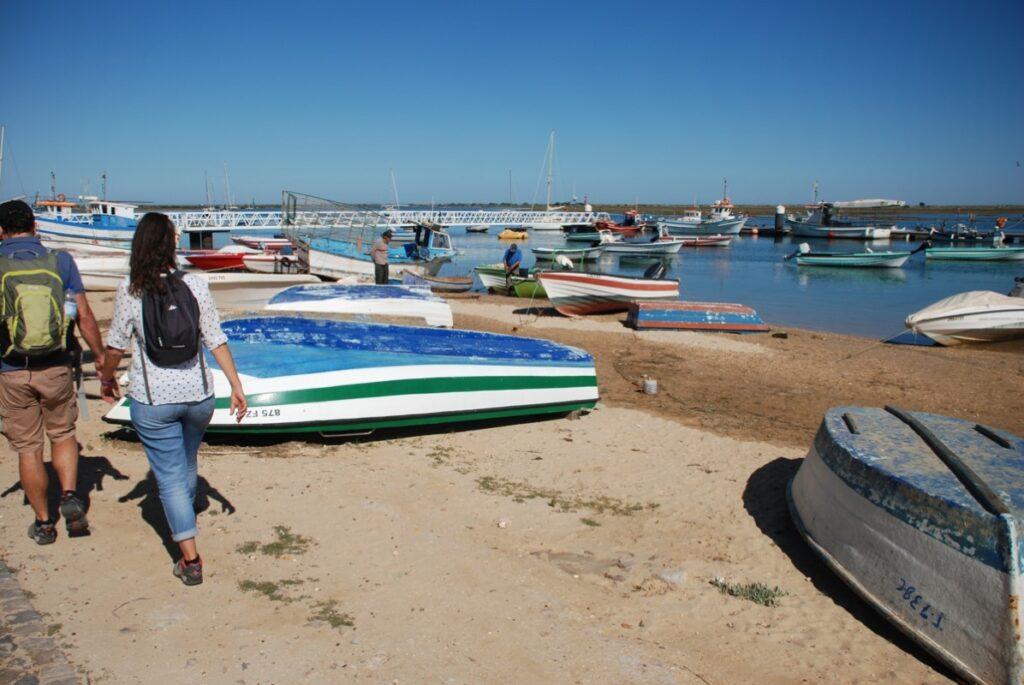 Santa luzia walking - Typical fishing village in East Algarve walking holidays