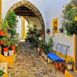Castelo de Vide Arch Alentejo