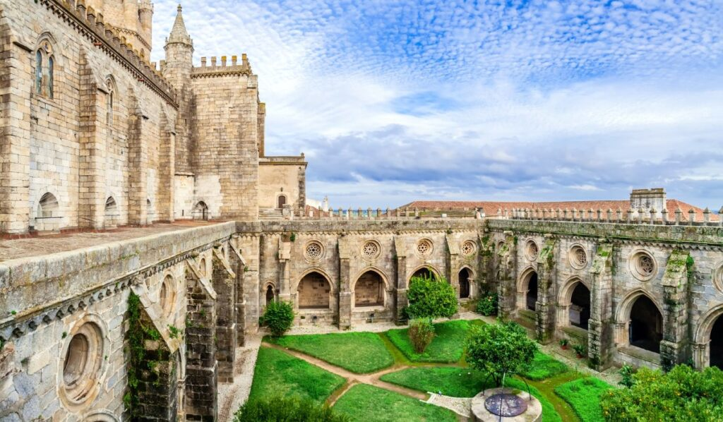 Evora Cathedral, the biggest Medieval cathedral in Portugal