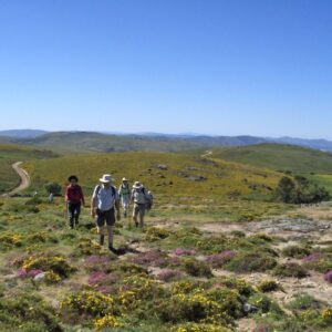 Walking in Peneda National Park Portugal
