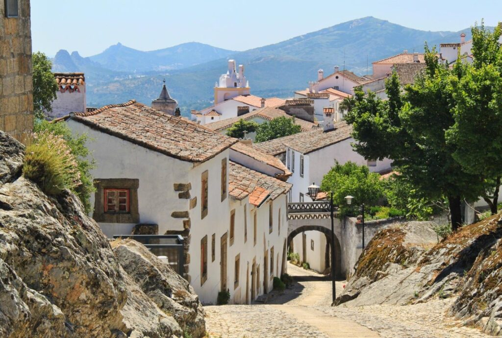 Marvão is a small medieval town on the top of the hill