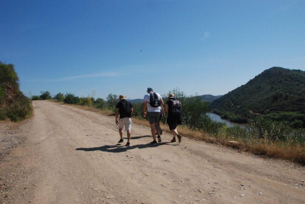 Group Walk Guadiana margins Alcoutim