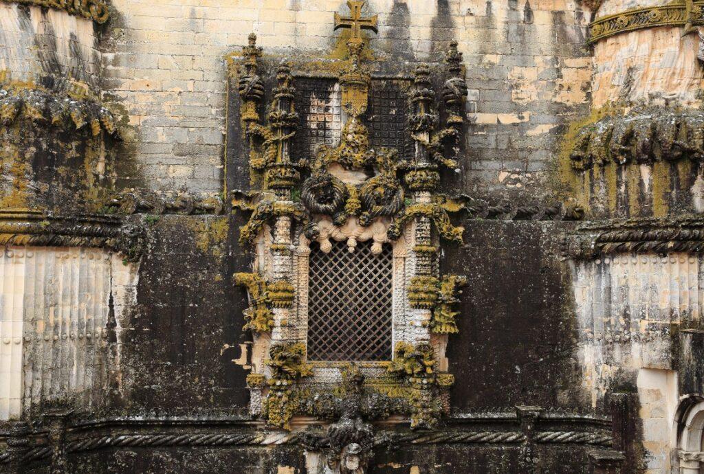 Tomar window Knights Templar Castel